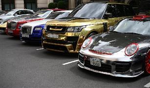 بالصور. سيارات خليجية فاخرة تغزو شوارع لندن