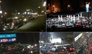 بالصور والفيديو.. زحام على محطات الوقود في أماكن مختلفة بالجمهورية
