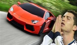 بالفيديو.. شاهد لحظة اصدام سيارة كريستيانو رونالدو اللامبورجينى في حادث سير