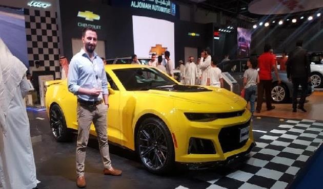 الموديل الأقوى على الإطلاق من شيفروليه كامارو ZL1  يظهر بمعرض جدة للسيارات - الأهرام اوتو