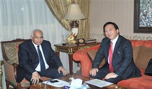 وزير النقل يبحث مع السفير الياباني تنفيذ مترو (6 أكتوبر - الملك الصالح)