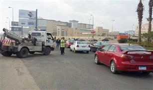 تحويلات مرورية لإنشاء نفق سيارات التسعين الجنوبى بالقاهرة الجديدة