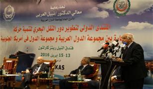 وزير النقل: الدراسات أثبتت ضرورة وجود شركتين للنقل البحري والخدمات اللوجيستية على المستوى العربي