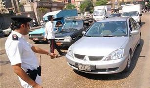 63 ألف مخالفة مرورية ورفع 284 مركبة من الميادين خلال 24 ساعة