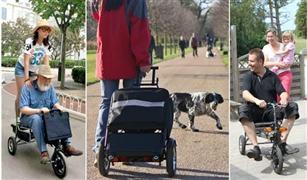 """""""الموتوسيكل المحمول"""".. سكوتر يتحول إلى مقعد  أو حقيبة ويسافر معك إلى أي مكان"""