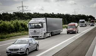 في رحلة تجريبية قوافل شاحنات ذاتية القيادة جزئيا تصل لروتردام الهولندية