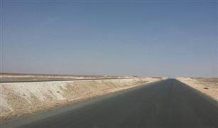 انجاز  طريقي (الصعيد - البحر الأحمر) و (سفاجا -  قنا ) بنسبة 95%