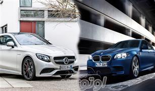 مقارنه بين مرسيدس بنز S 63 AMG  الكوبيه وبي إم دبليو M5  4.4T
