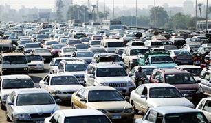 نشرة المرور المسائية: كثافات عالية بمعظم محاور القاهرة ولورى معطل على كوبرى أكتوبر