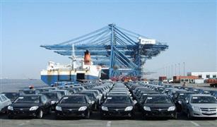 ميناء نويبع يستقبل 107 سيارة جديدة ماركات عالمية مختلفة.