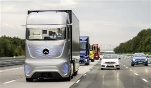 مواصفات خيالية.. شاهد بالفيديو شاحنة مرسيدس ذاتية القيادة