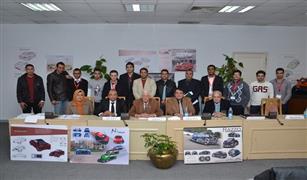 ورشة عمل تدريبية لهواة تصميم السيارات بكلية الفنون التطبيقيية جامعة حلوان