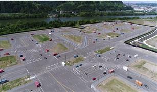 شاهد بالفيديو.. مدينة اوبر الافتراضية   لاختبار سيارات ذاتية القيادة