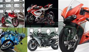 شاهد بالصور أساطير السرعة.. أقوى 5 دراجات نارية في العالم لعام 2017