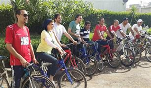 بدء فعاليات ماراثون الدراجات بين القاهرة والغردقة