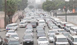 الحالة المرورية في القاهرة: كثافات متوسطة باستثناء بعض المناطق