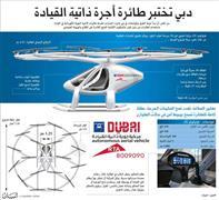 بالفيديو .. دبي تختبر تشغيل طائرات أجرة بدون  طيار