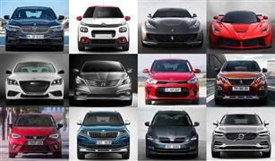 موديلات 2018 ترفع أسعار السيارات.. ننشر قائمة بجميع الطرازات هذا الأسبوع في مصر