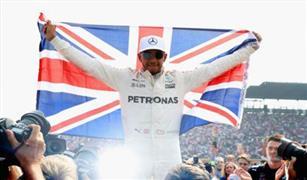هاميلتون يتوج بطلا للعالم في فورمولا  1  لعام 2017