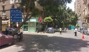 تحويلات مرورية بمحيط مبنى وزارة الداخلية بوسط البلد