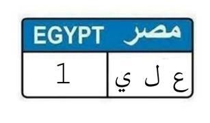 """لوحة السيارة""""ع ل ى 1"""" تحقق سعر خيالي في مزاد وزارة الداخلية"""