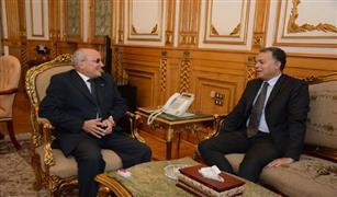 وزير النقل يجتمع مع وزير الدولة  للانتاج الحربي  لبحث التعاون في تطوير السكة الحديد