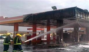 حريق في محطة بنزين ببنها.. والدفاع المدني ينقذ المنطقة من كارثة