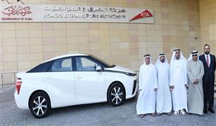 (الطرق والمواصلات) الاماراتية ندشن اول مركبة أجرة كهربائية