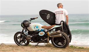 فنان ألواح التزحلق يصمم أحدث دراجات BMW النارية