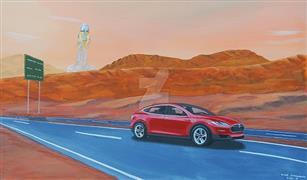 سيارة حمراء للكوكب الأحمر.. شاهد أول مركبة سيتم إرسالها إلى المريخ