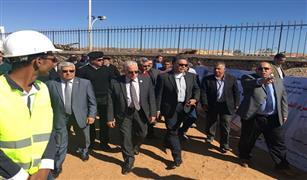 وزير النقل في جولة بميناء شرم الشيخ البحري لتنشيط السياحه