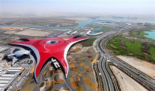 بالفيديو .. «عالم فيراري» في أبوظبي.. يطلق لعبة انعدام الجاذبية «تيربو تراك»