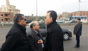 """وزير النقل الجديد يتفقد أعمال صيانة """"الدائري"""".. ويشدد على إصلاح فواصل الكباري"""