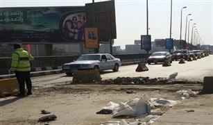 مرور القاهرة ينصح بالطرق البديلة لكوبري أكتوبر أثناء إغلاقه للصيانة