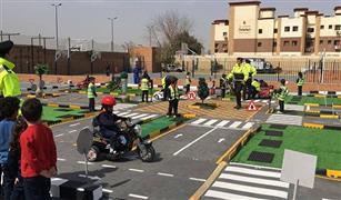 بالصور.. افتتاح أول مدينة مرور للأطفال في مصر