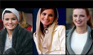 بالفيديو :سيارات الشيخة موزة والملكة رانيا زوجة الملك عبدالله الثاني وللا سلمي زوجة ملك المغرب محمد السادس
