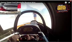 فيديو يحبس الأنفاس.. سيارة تتحطم على سرعة 600 كم / ساعة