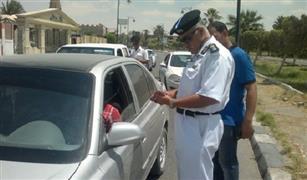 مسئول بالمرور: مخالفات السيارة تسجل على قائد السيارة وليس مالكها في القانون الجديد