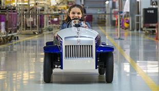 «رولزرويس» تصنع نسخة مصغرة من سيارتها الشهيرة فانتوم للترفيه عن الأطفال المرضى
