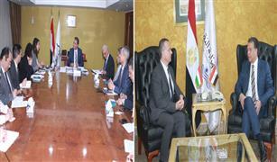 وزير النقل يلتقي سفيري المجر والاردن بالقاهرة لبحث التعاون فى السكك الحديديه