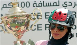 ابنة حاكم دبي تفوز بكأس الفروسية في مسابقة ولي عهد الإمارة