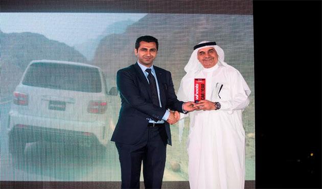 باترول نيسمو  تفوز بجائزة أفضل سيارة رياضية متعددة الاستخداماتخلال حفل توزيع جوائز مجلة  ويلز  - الأهرام اوتو