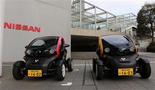 """""""نيسان"""" ومدينة يوكوهاما تطلقان خدمةمشاركة السيارات الكهربائية صغيرة الحجم في اليابان"""