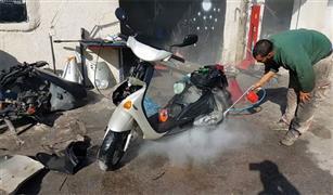 كيف  تنظف الدراجات النارية باحتراف وبدون تكلفة؟