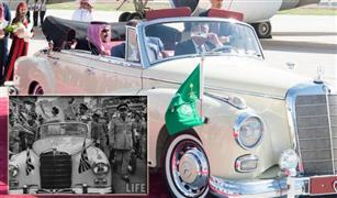بالصور  قصة  (الكابورليه 220  مرسيدس)   التي استقلها الملك سليمان  واستخدمها  الملك حسين في حفل زفافه