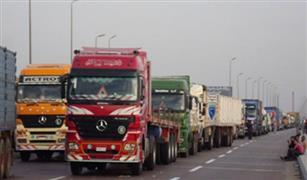 المرور يمنع سيارات النقل الثقيل و المقطورات من الصعود لكوبرى شمال طره