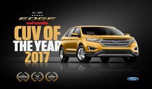 فورد إدج تسجّل إنجازاً جديداً مع لقب سيارة كروس أوفر لعام 2017من مجلة ويلز