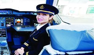 بالفيديو  اصغر  امرأة من أصل عربي   قبطان طائرة إيرباص العملاقة «A380»  تعرف علي جنسيتها العربية