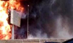 تحويلات مرورية بالتجمع الخامس لتفادي موقع انفجار خط الغاز