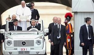 بابا الفاتيكان يرفض استخدام سيارة مصفحة خلال تجوله بالقاهرة